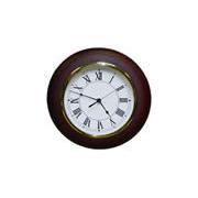 Wood Wall Clock 12 W 8 Roman Numeral Dial Quartz
