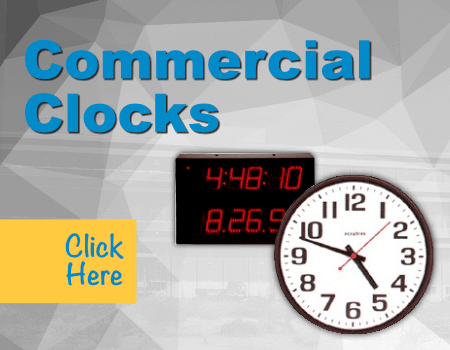 Commercial Clocks